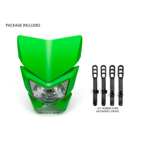 Universeel Supermoto Headlight Unit (Selecteer Kleur)