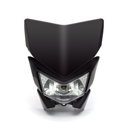 Universal Supermoto Headlight Mask  (Select Colour)