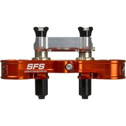 SFS Air damped triple clamp SX / SX-F Orange