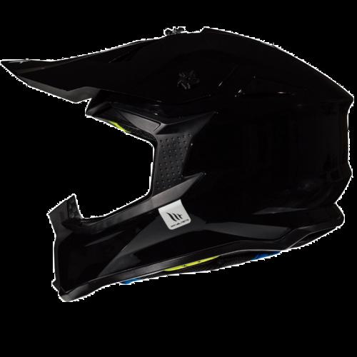MT Helmets Falcon Solid Zwart