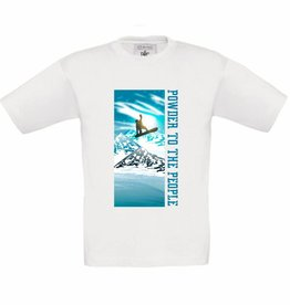 T-shirt Snowboard - Powder to the people