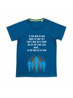 Venloop sport shirt quick&dry - blauw