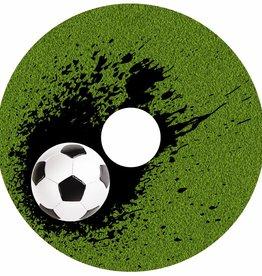 Rolstoelstickers voor spaakbeschermer - voetbal