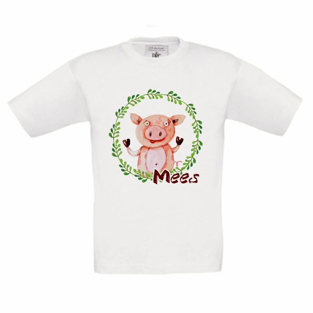 T-shirt Varken met naam