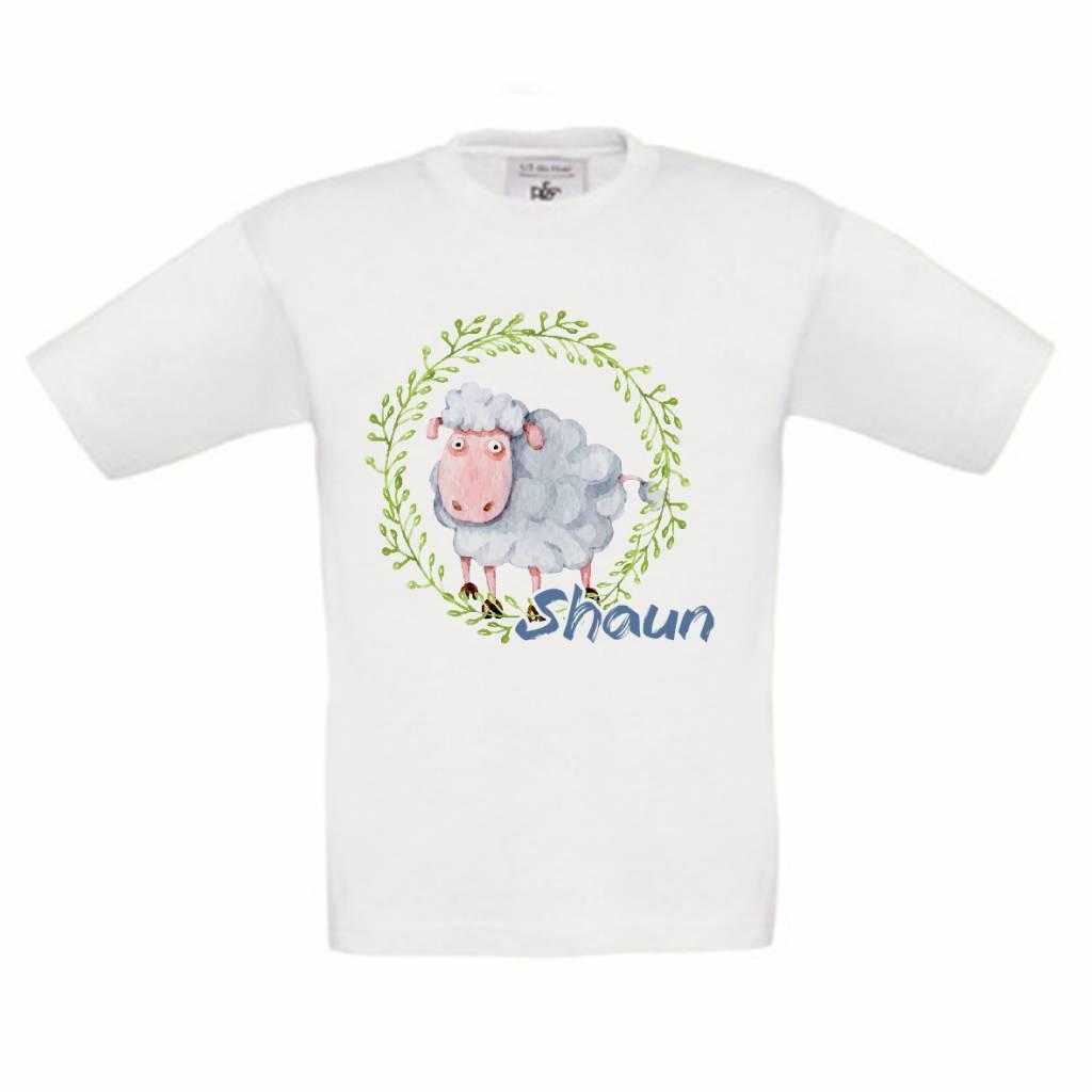 T-shirt Schaap met naam