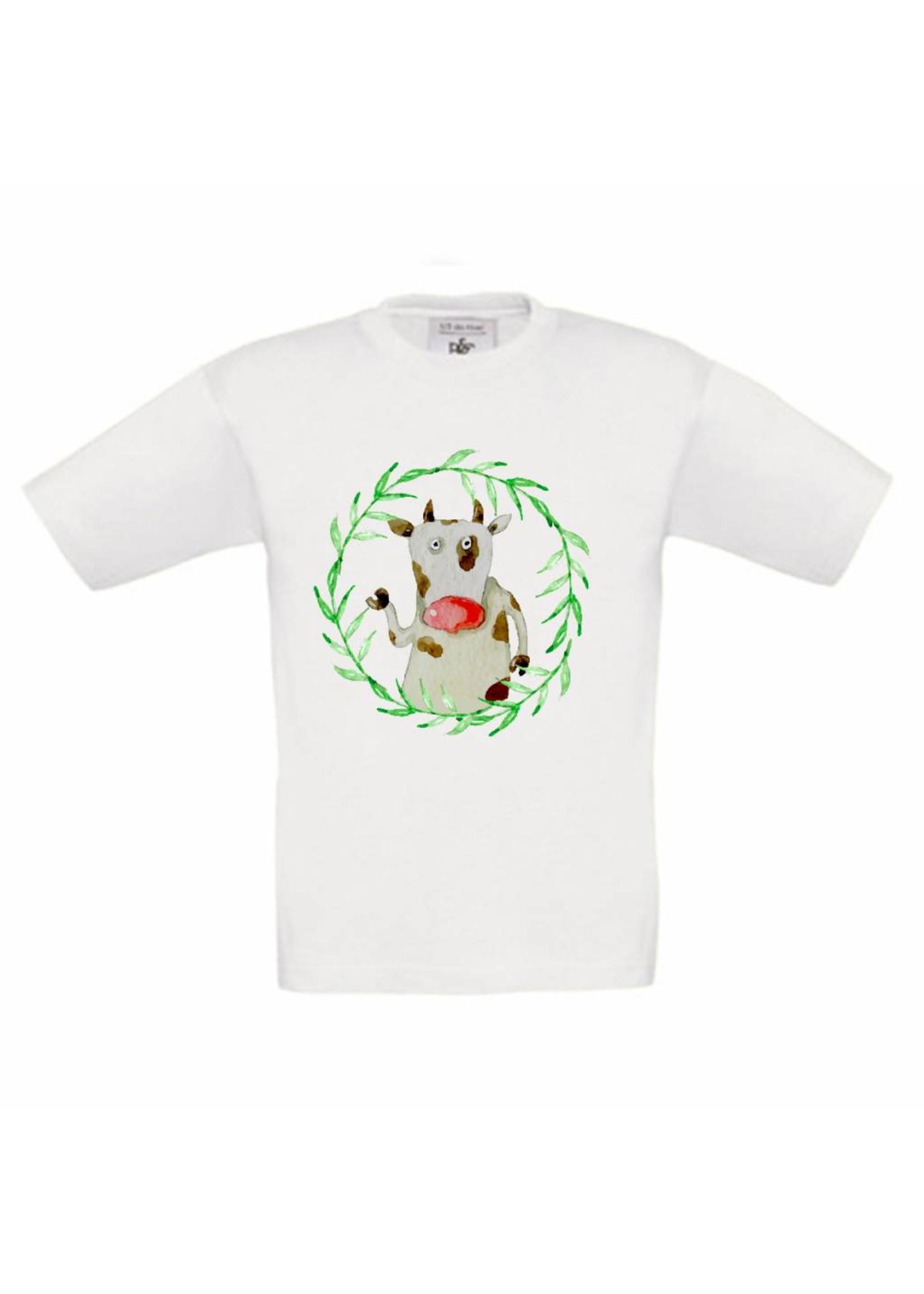 T-shirt Koe met naam