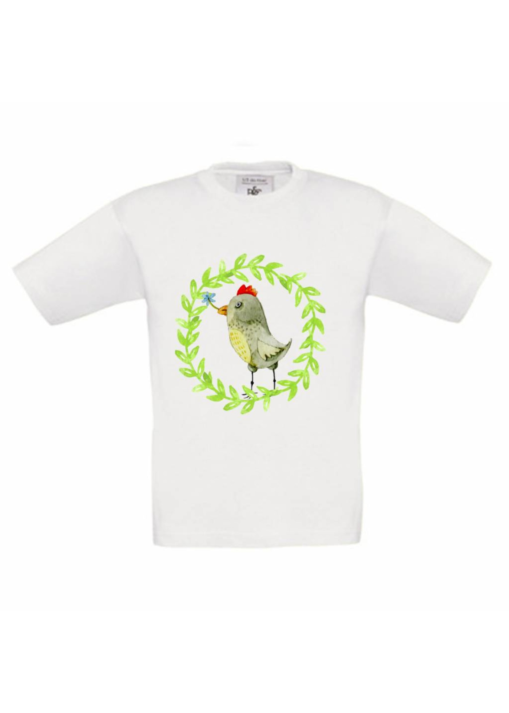 T-shirt Kip met naam