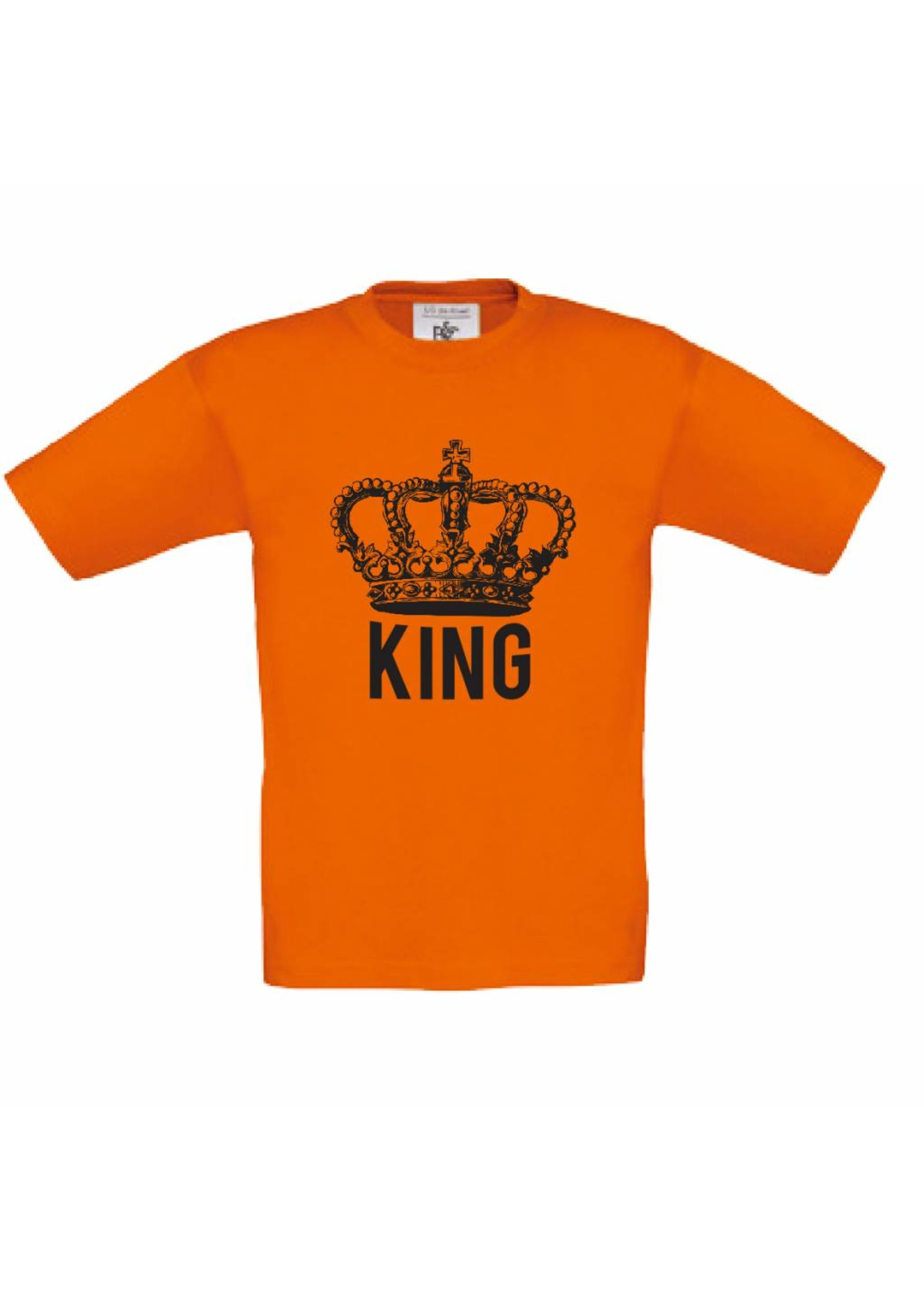 Koningsdag t-shirt - king