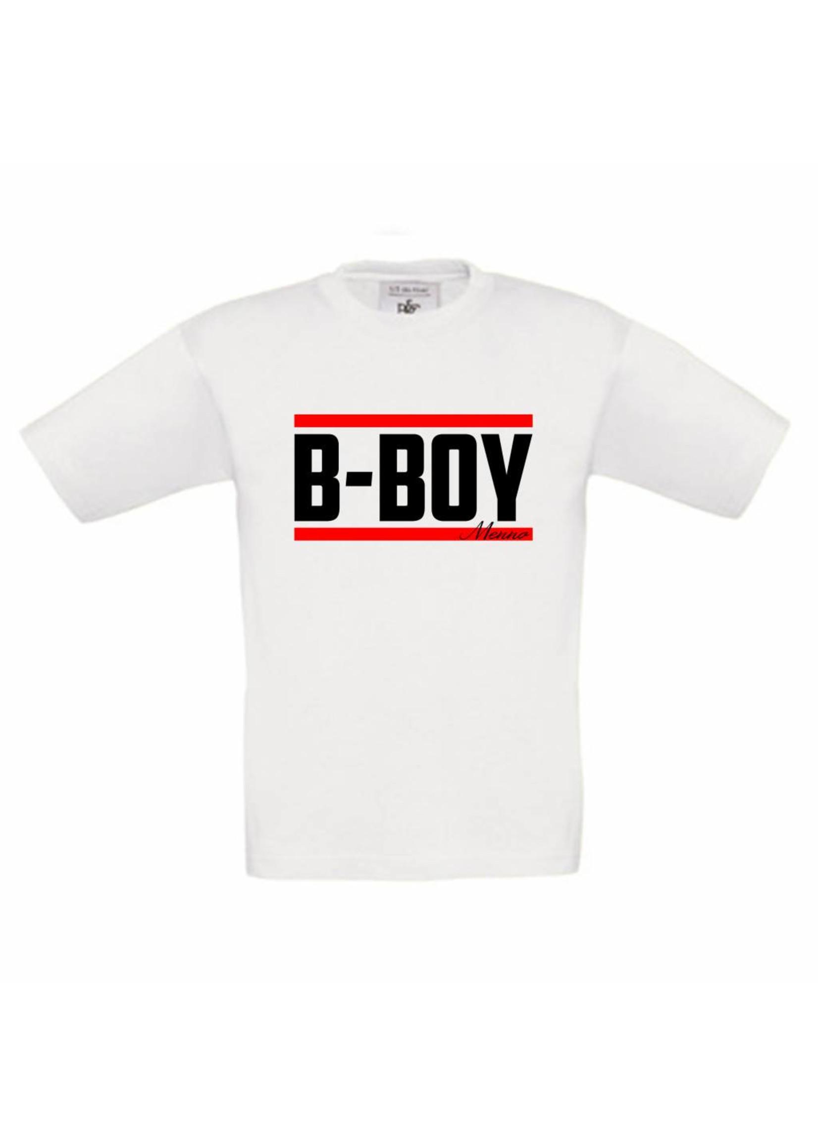 T-shirt B-boy met naam