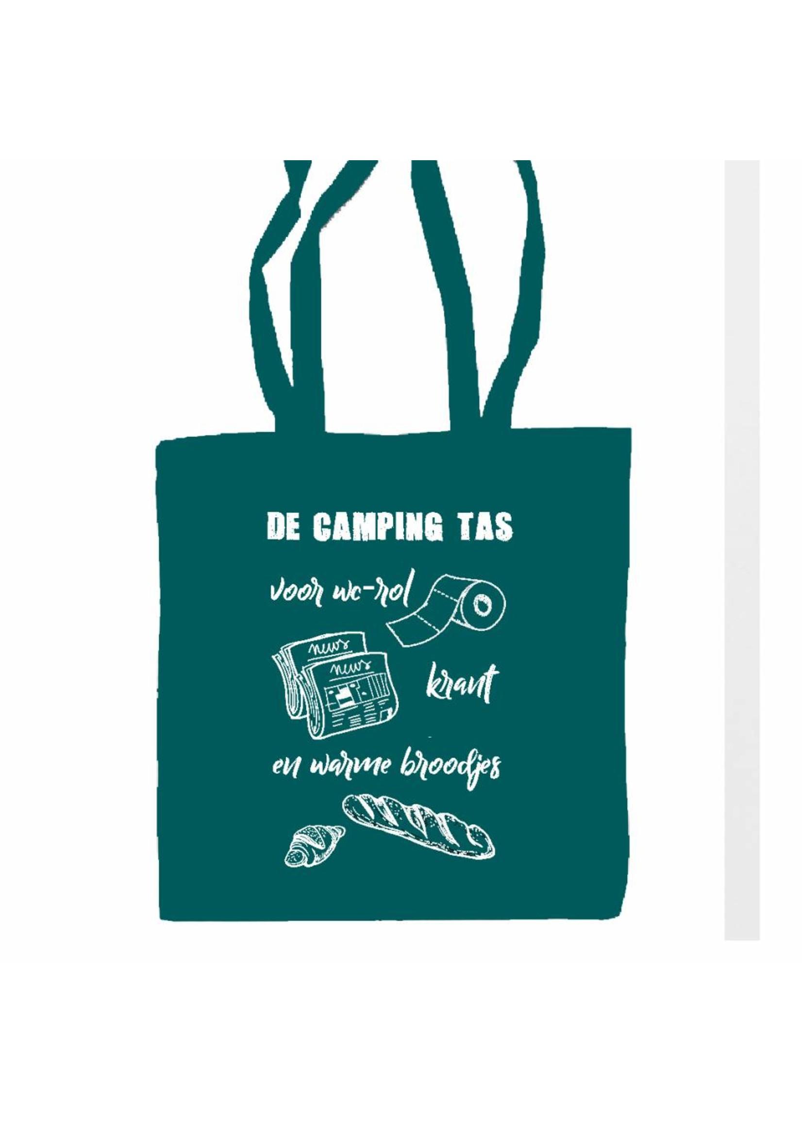 Camping tas - petrol