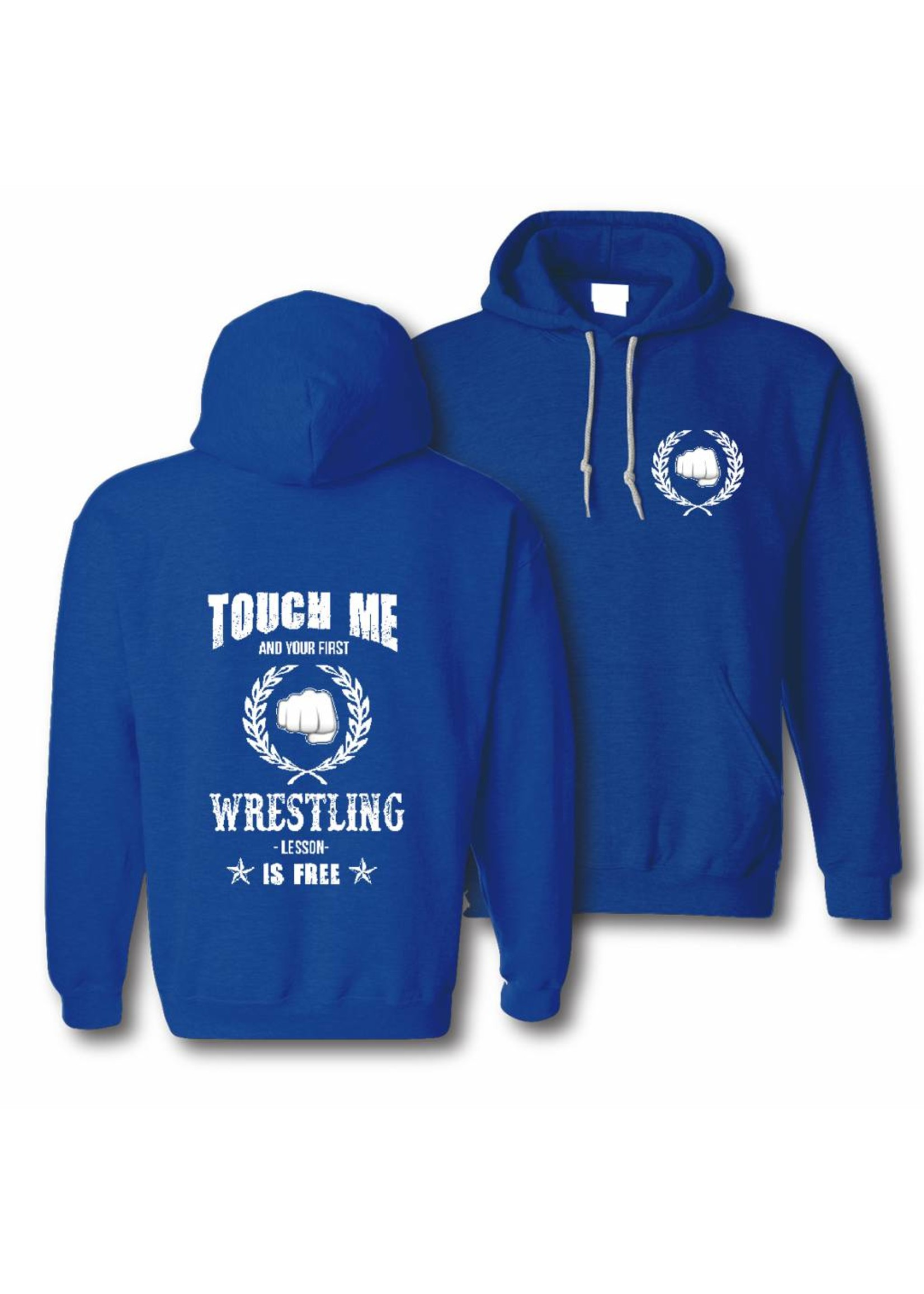 Hoody touch me and your first wrestling lesson is free