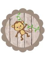 Strijkapplicatie aap
