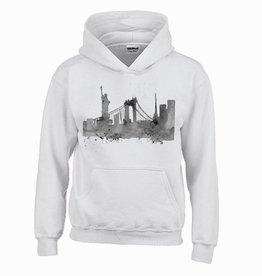 Hoodie . skyline New York