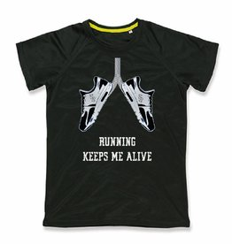 Running keeps me alive - sport shirt quick&dry