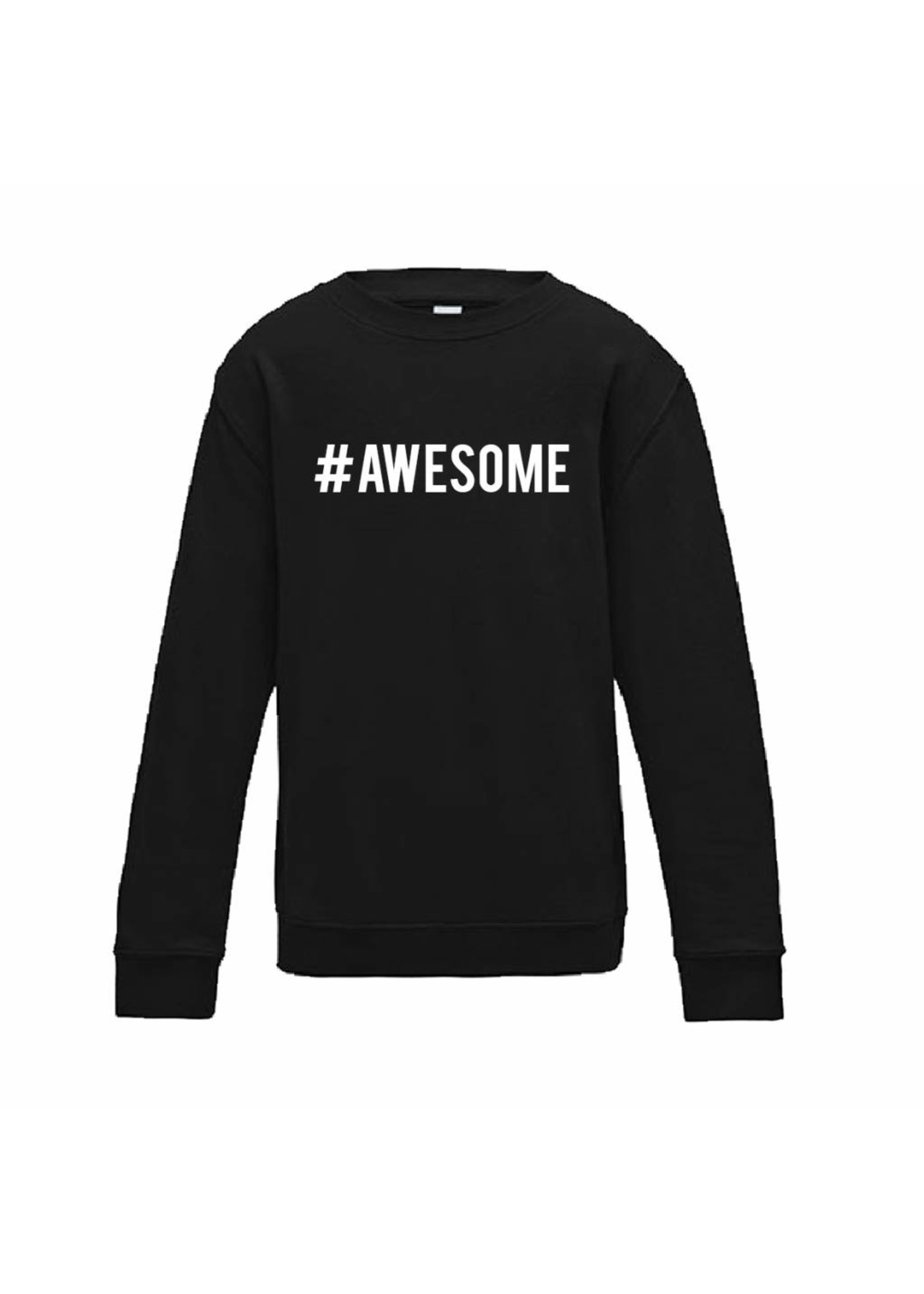 Sweater  #AWESOME - of andere tekst