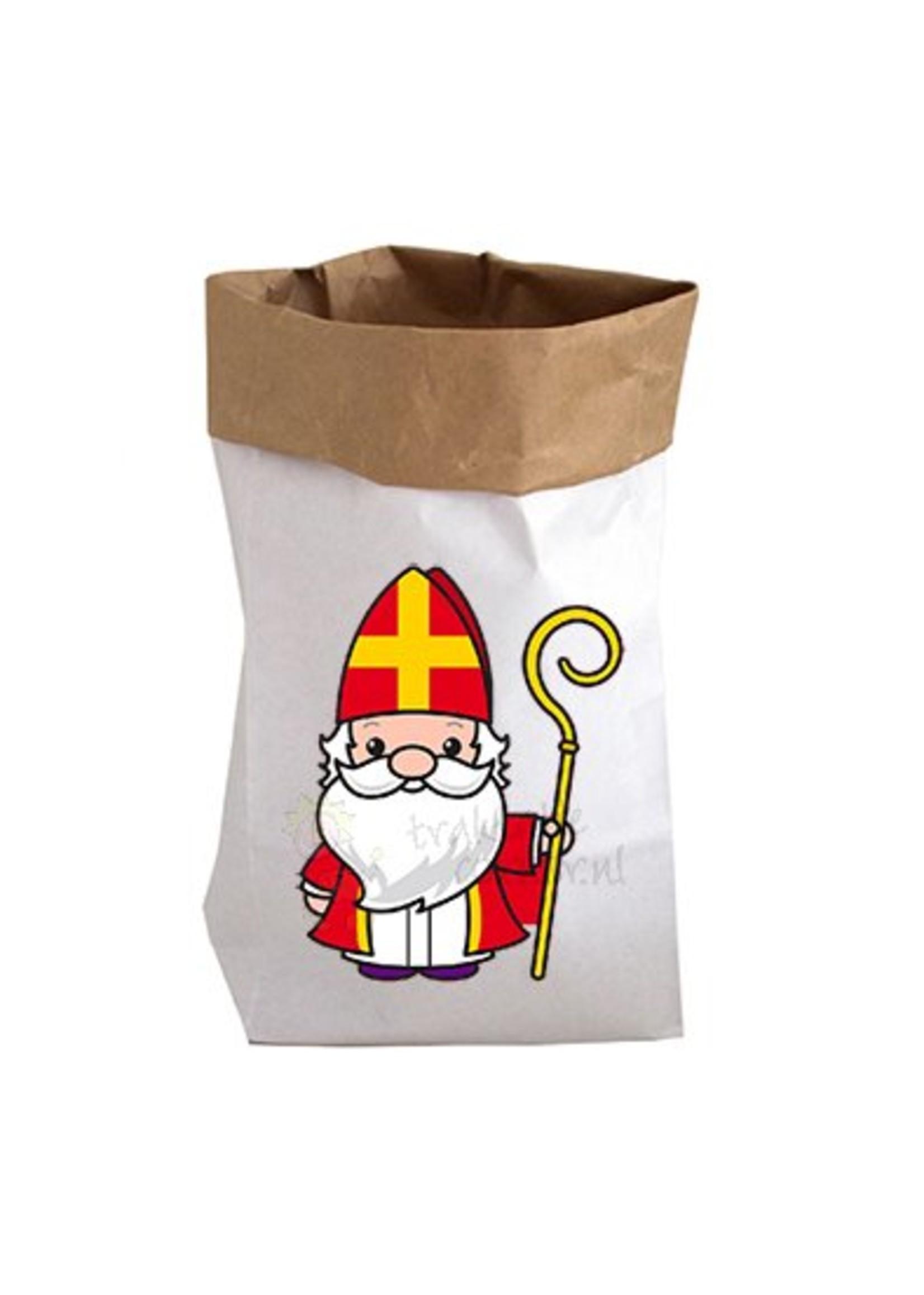 Papieren zak XL Sinterklaas