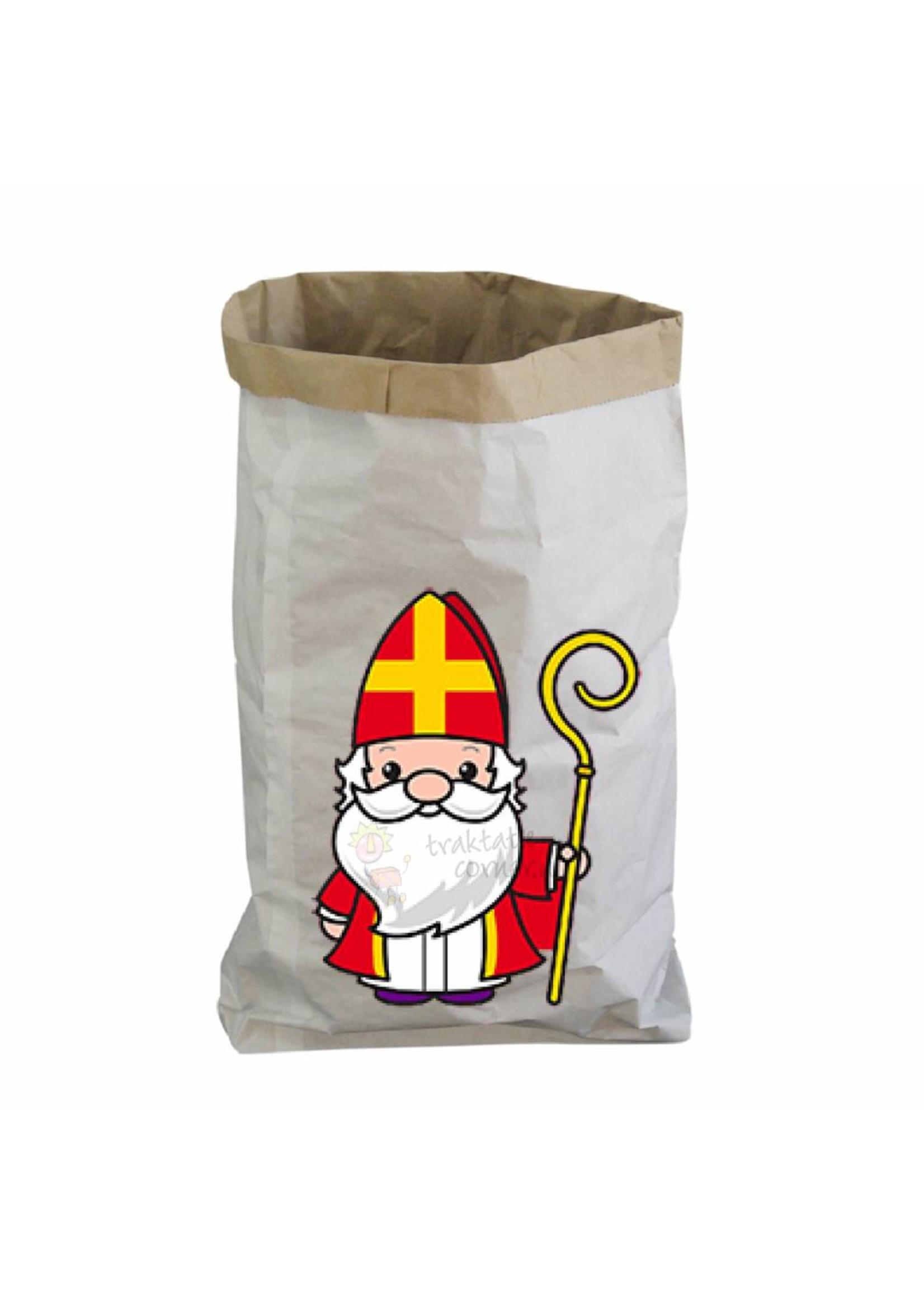 Papieren zak XXL Sinterklaas