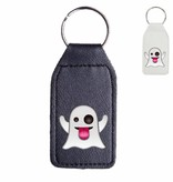 Spook emoji sleutelhanger