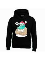 Foute kerstman hoodie