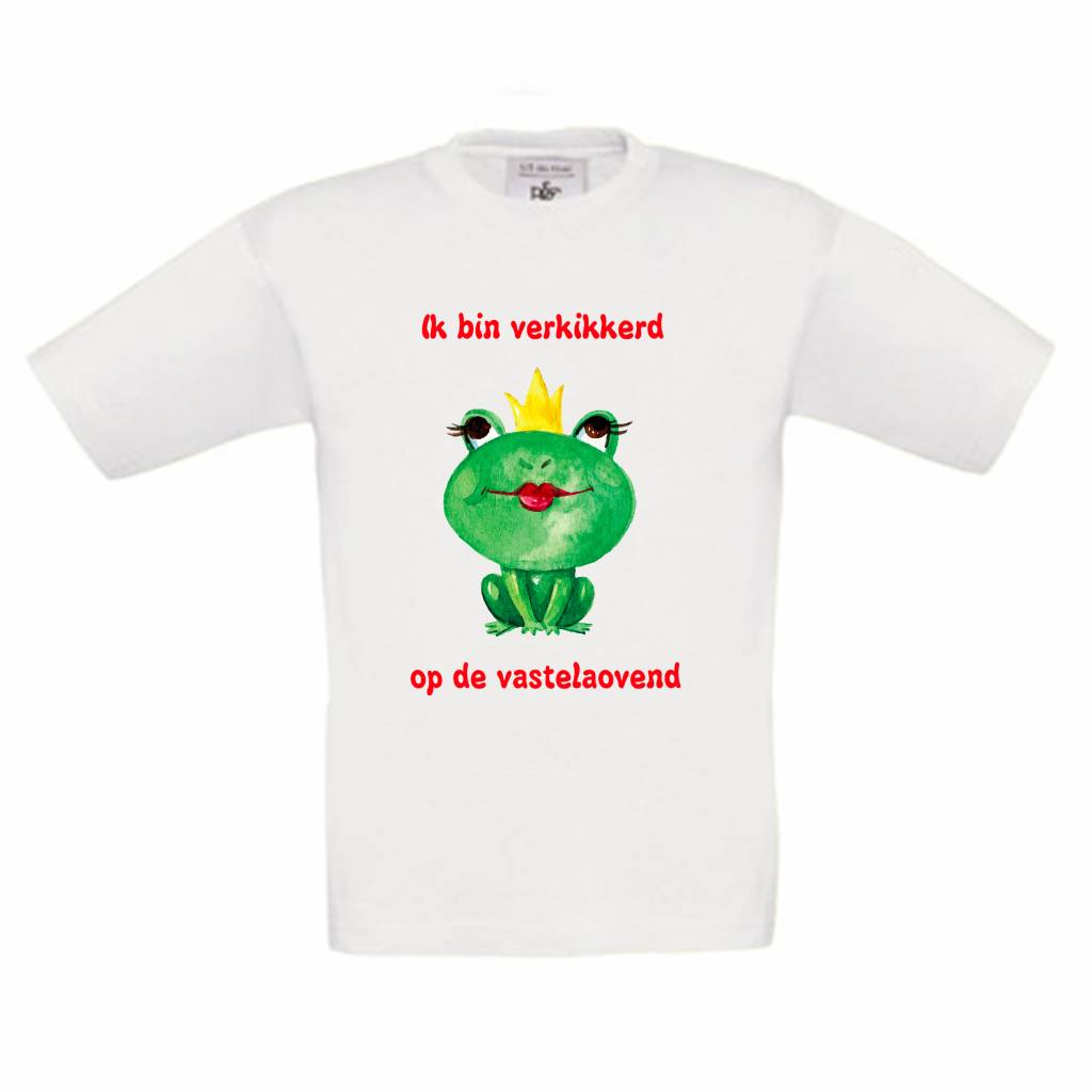 T-shirt verkikkerd op de Vastelaovend