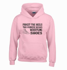 Forget the heels hoodie