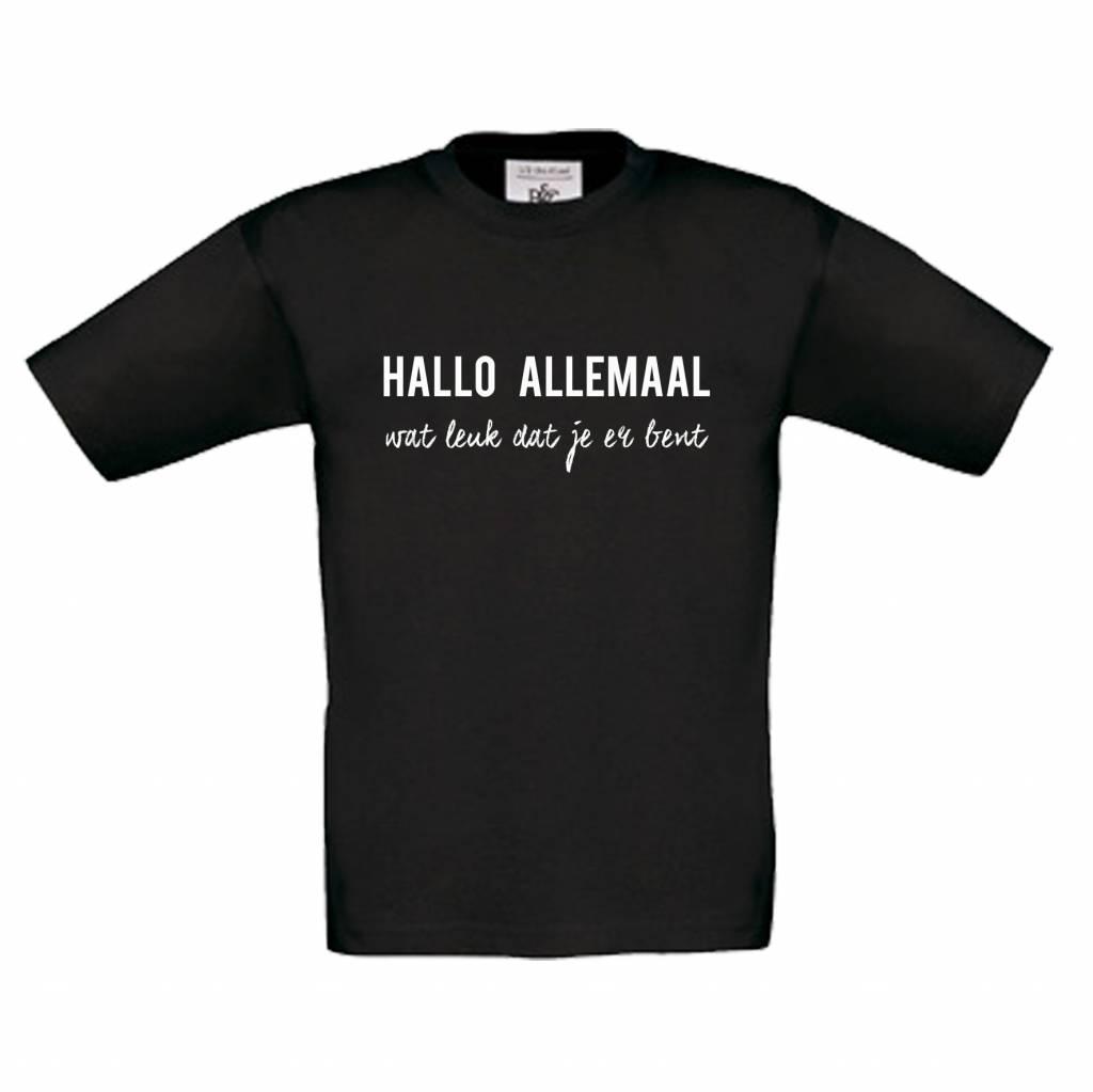 Hallo allemaal t-shirt