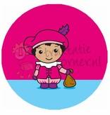 """Button """"Piet roze"""""""