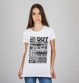 T-shirt outside the box