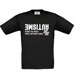 Autisme t-shirt - zwart
