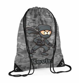 Gymtas ninja met naam