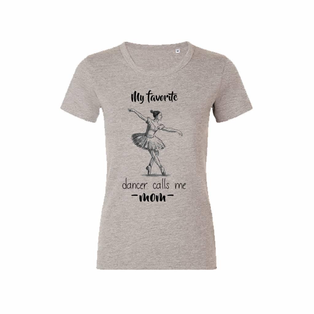 Dancer mom t-shirt