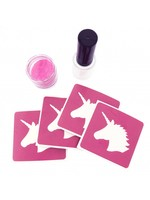 Unicorn glittertattoo set