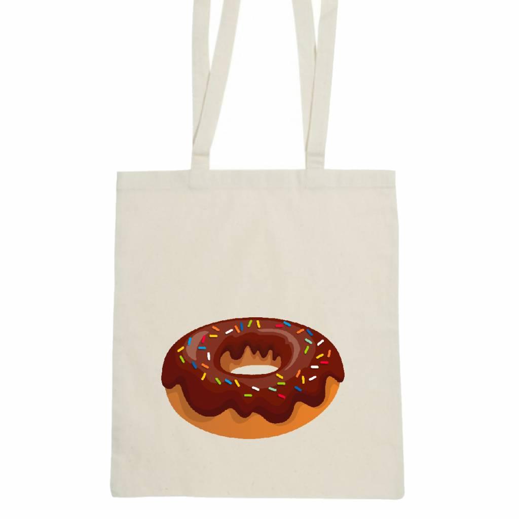 Donut tas - chocolade