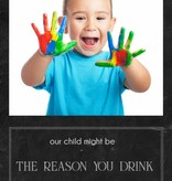 Wijn - our child might be the reason you drink
