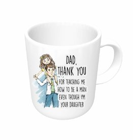 Vaderdag mok - dochter -  thank you dad