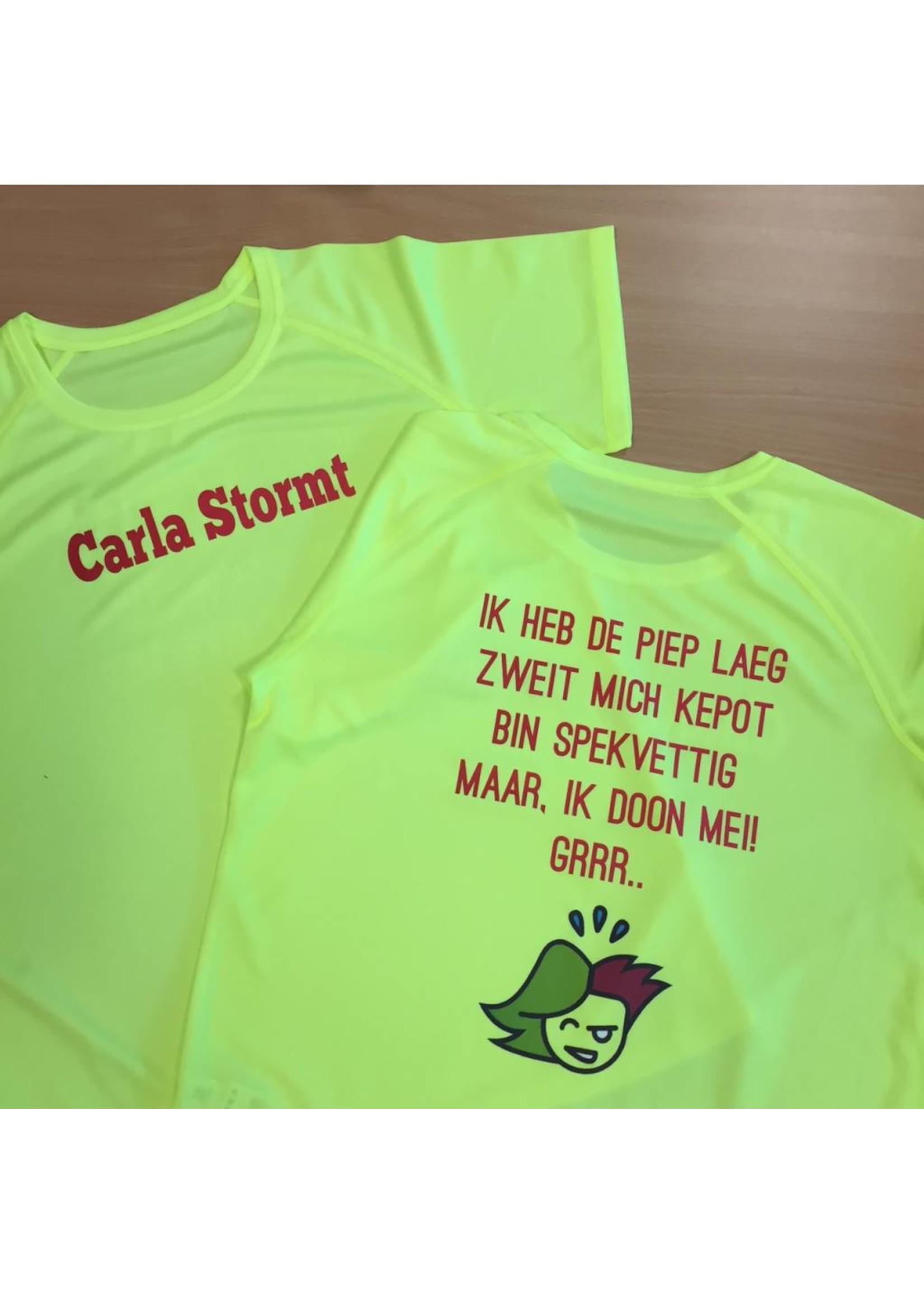 Sport shirt quick&dry - bedrukt naar wens