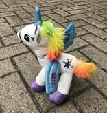 Unicorn knuffel met naam