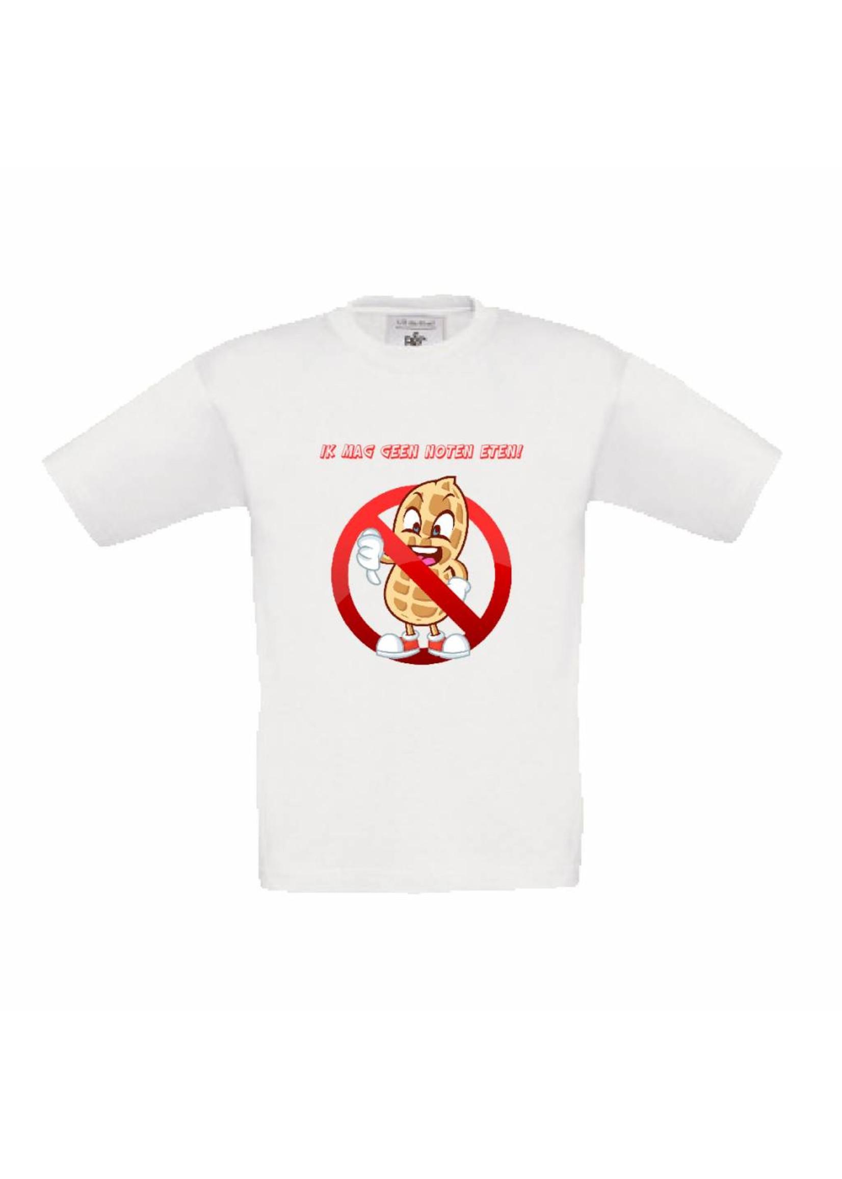 Notenallergie t-shirt