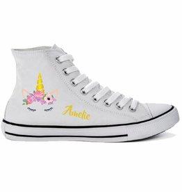 Unicorn schoen met naam
