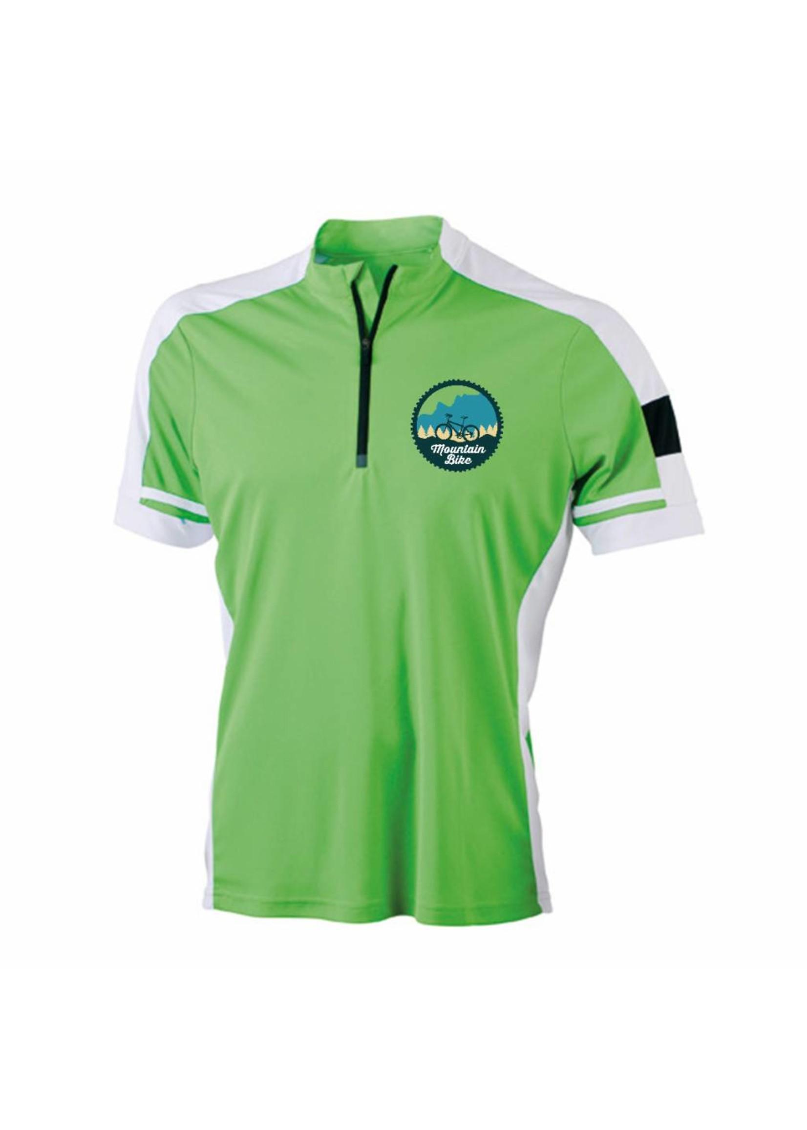 Mountain bike shirt met tekst en/of afbeelding naar wens