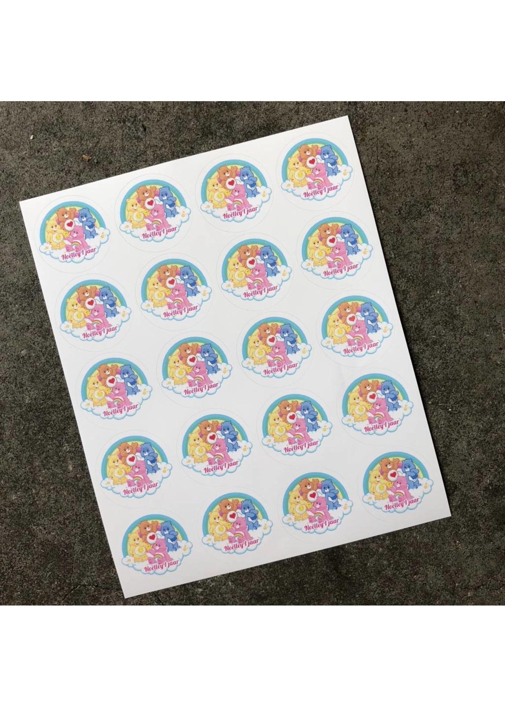 Sticker van vinyl met foto of logo