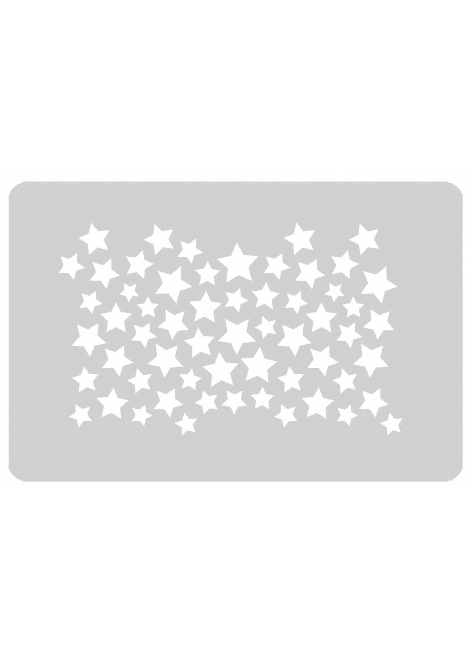 Schminksjabloon sterren