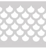 Schminksjabloon schubben