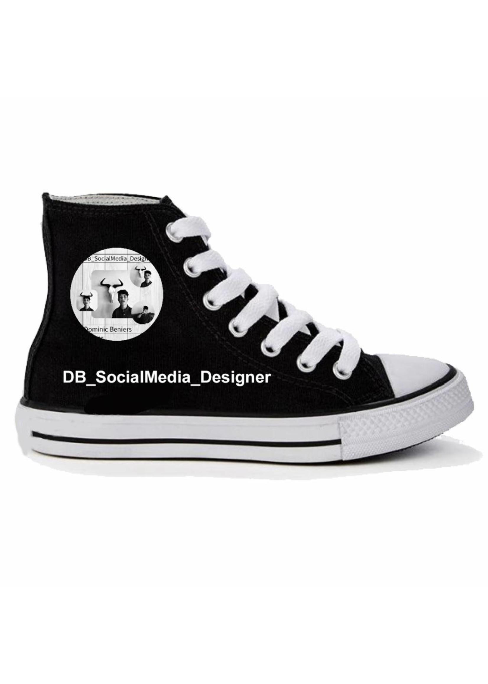 Sneaker met eigen logo