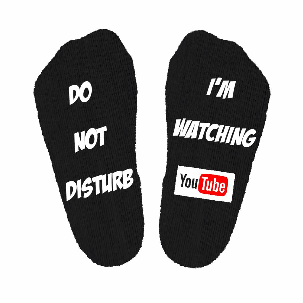Do not disturb Youtube sokken