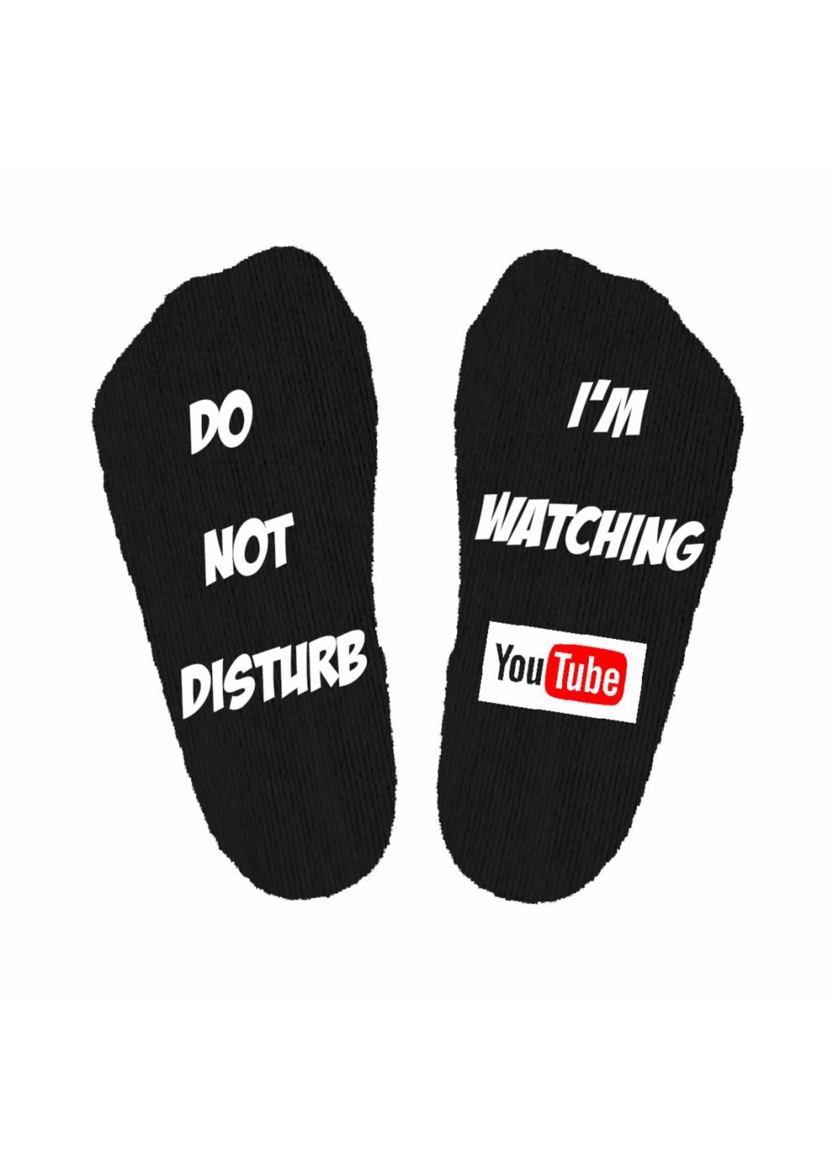 Do not disturb Netflix sokken