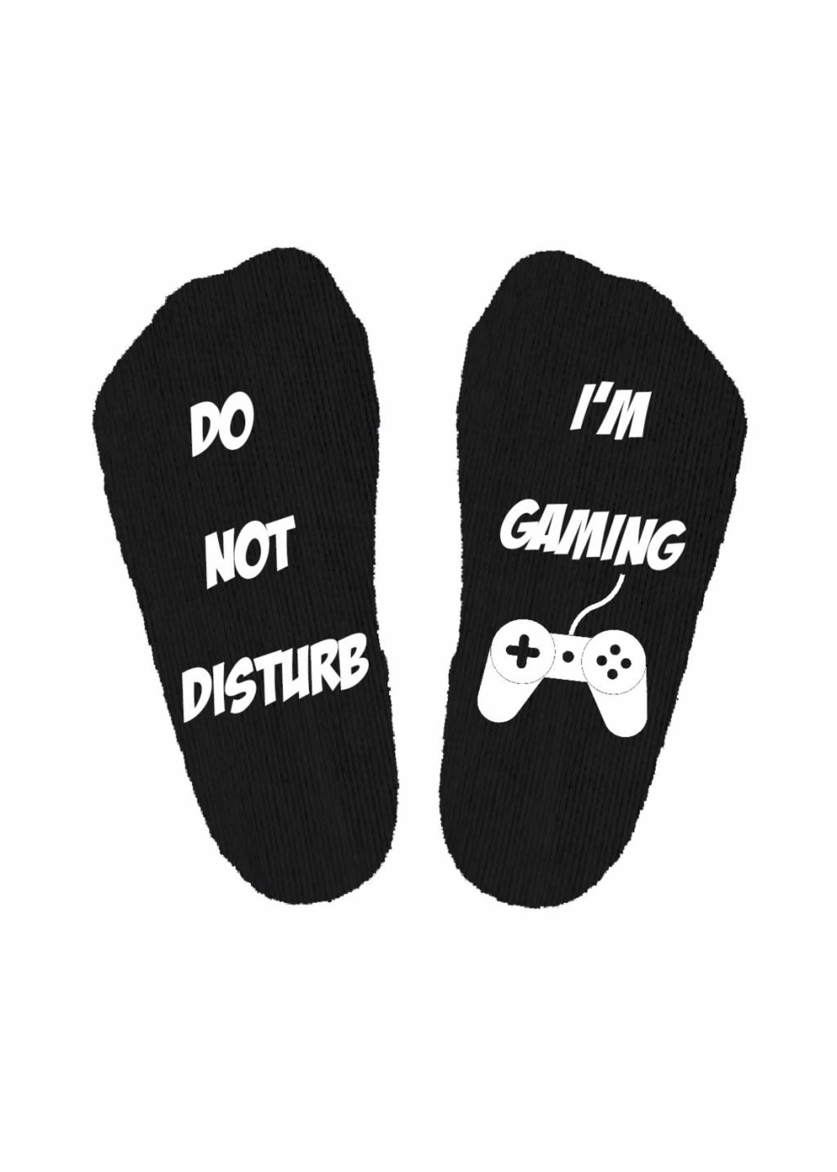 Do not disturb gaming sokken