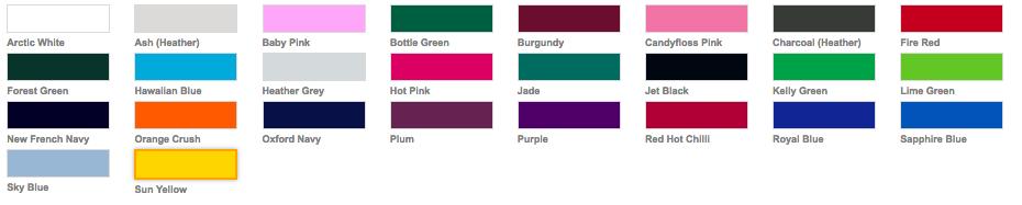 Kleuren hoodie
