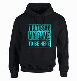 I paused my game hoodie