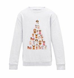 Honden kerst sweater